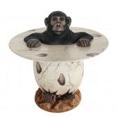 Affe im Ei Tisch