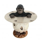 Gorilla im Ei Tisch