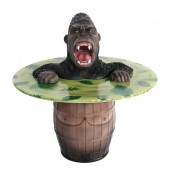 Wütender Gorilla Fasstisch