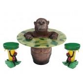 Orangutan Fasstisch und Bananenhocker