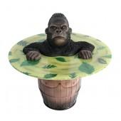 Mürrischer Gorilla Fasstisch