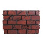 Backstein für Wand