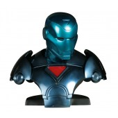 Iron Man blau Büste