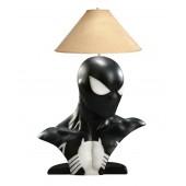 Spiderman schwarz Lampe