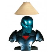 Iron Man blau Lampe