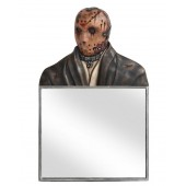 Monster Jason Voorhees Spiegel Quadrat