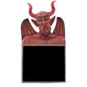 Teufel Büste Angebotstafel