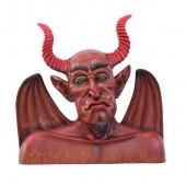 Teufel Büste für Wand