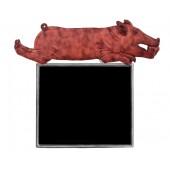 Schwein gebraten Angebotstafel