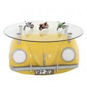Tisch VW Gelb