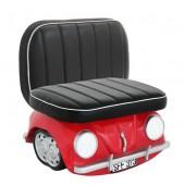Sitz für Kinder VW Rot