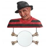 Monster Freddy Krüger Spiegel mit Knochen