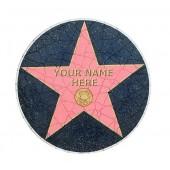Walk of Fame Fließe mit Namen