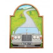Bild mit Rolls Royce Silber