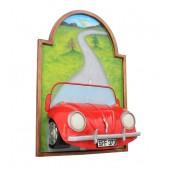 Bild mit VW Rot
