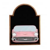 Angebotstafel mit Chevy Rosa