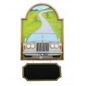 Bild mit Rolls Royce Silber und Angebotsschild
