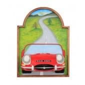 Bild mit Jaguar Rot
