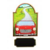 Bild mit Mercedes Benz Rot und Angebotsschild