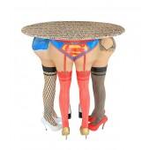 Frauenbeine Tisch
