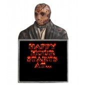 Monster Jason Voorhees Büste Happy Hour Angebotstafel