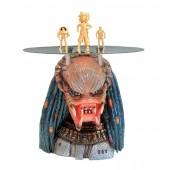 Alien Predator Tisch mit Glasplatte