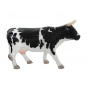 Schwarzweiße Kuh