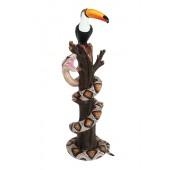 Tukan mit Phyton auf Baum