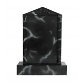 Grabstein mit schwarzem Marmoreffekt 3