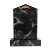 Grabstein mit schwarzem Marmoreffekt 4