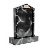 Grabstein mit schwarzem Marmoreffekt 6