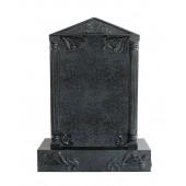 Grabstein mit schwarzem Marmoreffekt 31