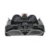 Wanddeko Batmobil Schwarz