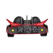 Wanddeko Batmobil mit Flügeln Schwarz Rot