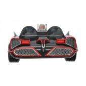 Wanddeko Batmobil Schwarz Rot