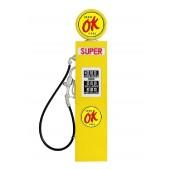 Tankstelle Gelb als Wanddeko groß