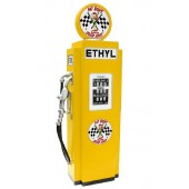 Route 66 Tankstelle Gelb als Schrank groß