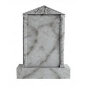 Grabstein mit grauem Marmoreffekt 3