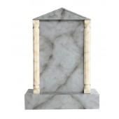 Grabstein mit grauem Marmoreffekt 8