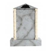 Grabstein mit grauem Marmoreffekt 9