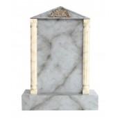 Grabstein mit grauem Marmoreffekt 11
