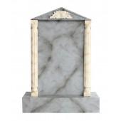 Grabstein mit grauem Marmoreffekt 13