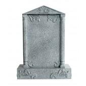 Grabstein mit grauem Marmoreffekt 32