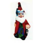 Gartenzwerg verkleidet als Weihnachtsmann
