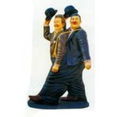 Dick und Doof zusammen in einer Hose