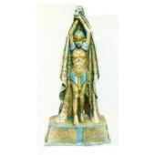 Ägypterin umhüllt im Gewand