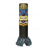 Tiki Maske auf Stein 7