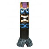 Tiki Maske auf Stein 8