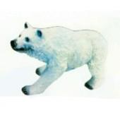 kleiner laufender Eisbär