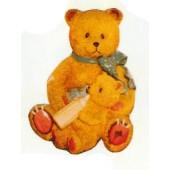 Teddybär mit Kind im Arm